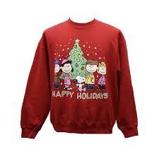 snoopy christmas sweatshirt terribly tacky gallery christmas sweatshirt by peanuts