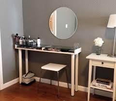 Glass Makeup Vanity Table Glass Vanity Table Set Bedroom Vanities Design Ideas