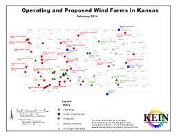 Ks Map Kansas Wind Energy Projects