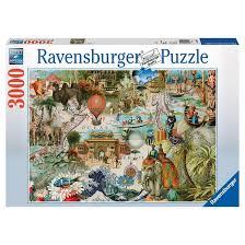ravensburger oceania puzzle 3000pc target