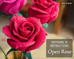 home decoration pdf crochet rose pattern crochet pattern for wedding bouquets