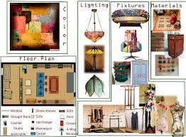 apartment interior boutique floor plan design idea with