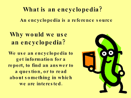 encyclopedia lesson for 4th grade by tiger creek elementary via