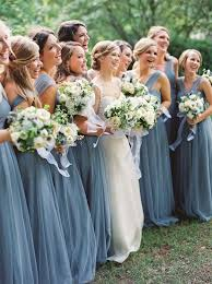 bridesmaid dress colors dusty blue bridesmaid dresses wedding dress weddings and wedding