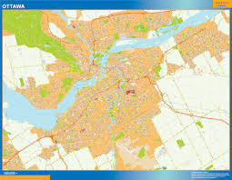 Map Of Ottawa Our Ottawa Map Wall Maps Mapmakers Offers Poster Laminated Or