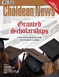 Chaldean Flag Chaldean News August 2017 By The Chaldean News Issuu