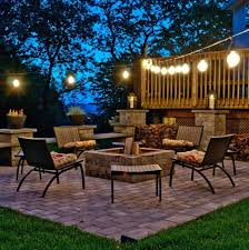 outdoor string patio lights home design ideas