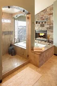 awesome bathroom awesome bathroom fireplace designs