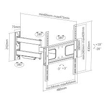 samsung 32 led tv wall mount vivo articulating tv wall mount vesa stand for lcd led plasma