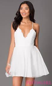 spaghetti dress v neck spaghetti dress promgirl