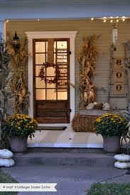 Fall Decorated Porches - our vintage home love fall porch ideas ourvintagehomelove