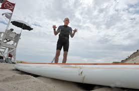 shark bites chatham man u0027s stand up paddleboard news