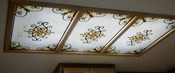 decorative fluorescent light panels marvelous decorative ceiling light panels fluorescent light covers