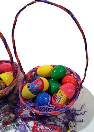 filled easter baskets wholesale 125 bulk lot filled easter eggs for hunt w toys bracelets