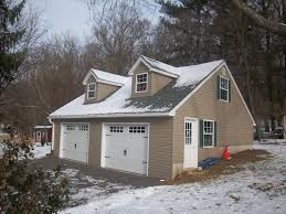 dimensions of a two car garage built on site custom amish garages in oneonta ny amish barn company