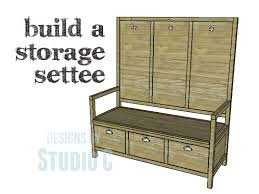a bench perfect for an entryway or mudroom u2013 designs by studio c