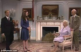 kate middleton lampooned by anne hathaway in racy saturday night