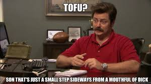 Small Desk Meme Tofu Son That U0027s Just A Small Step Sideways From A Mouthful Of