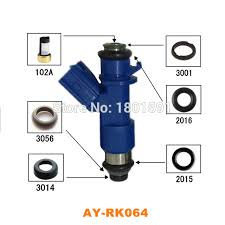 40kits fuel injector repair kits for acura honda civic rdx integra