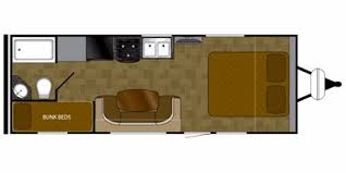 Wilderness Rv Floor Plans 2013 Heartland Rvs Wilderness Series M 2350bh Specs And Standard