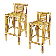 Patio Furniture Lowes Canada - ram game room tbstl bamboo tiki bar stools set of 2 lowe u0027s canada