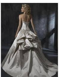 how to make a wedding gown bustle with a ribbon tie ehow two