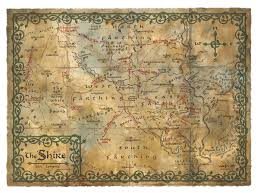 The Hobbit Map Warner Bros Consumer Products Unveils Worldwide Licensing Program