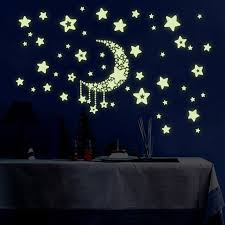 glow in the stickers luminous wall sticker home decor glow in the decal baby