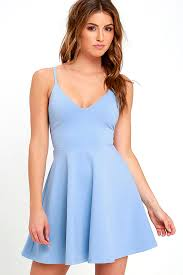 light blue dress light blue dress skater dress fit and flare dress 54 00