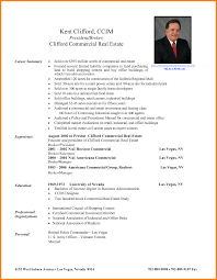 sample resume for real estate agent gallery creawizard com