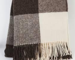wool blanket personalized wool blanket throw blanket