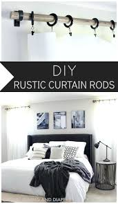 Hanging Up Curtains Without Nails by Best 25 Curtain Rods Ideas On Pinterest Window Curtains