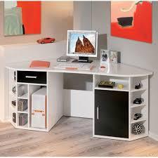 Small White Corner Computer Desk Corner Computer Desks Ideas For Small Spaces Home Design Trends