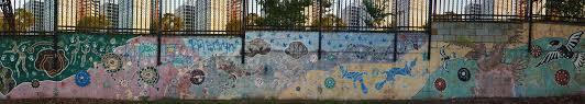 sydney wall art murals street painting graffiti eveleigh st opposite redfern station december 2015