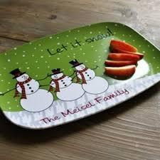 monogrammed platters clairebella platter monogrammed christmas serving platter