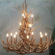 How To Make Deer Antler Chandelier Tall Spruce Mule Deer Antler Chandelier