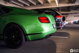 green bentley 2017 bentley continental gt3 r 6 november 2017 autogespot