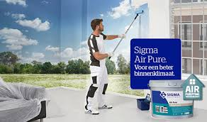 new sigma air pure paint made with decovery bio based resin dsm