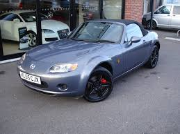 mazda convertible blue used mazda mx 5 convertible 2 0 option pack 2dr in eastleigh