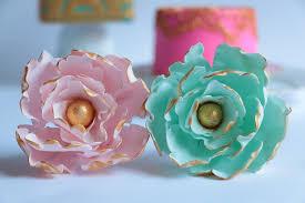 Peony Flowers by Gumpaste Peony Flower Tutorial Youtube