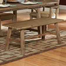 nat driftwood acacia wood country 48 inch dining bench free