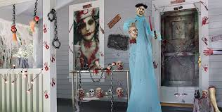 Asylum Halloween Costumes Asylum Halloween Decorations Decorations Tableware Props