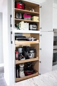 kitchen appliance storage cabinet pin on kitchen remodel