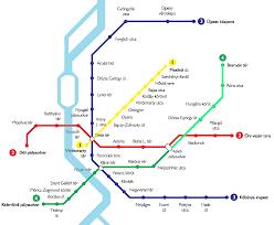 Budapest Metro Map by Budapesti Metrok