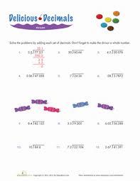 dividing decimals worksheet education com