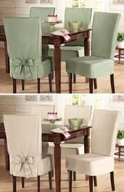 Dining Seat Covers Antique Caned Back Dining Chairs Wearing Their New Whitedenim