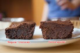 brownie recipe with cocoa powder or vegetable oil substitute