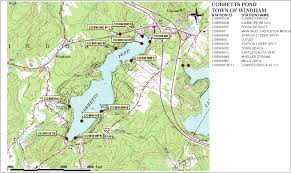 Nh Map Sampling Station Maps Annual Reports Volunteer Lake Assessment