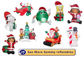christmas inflatables gemmy inflatables christmas decorations