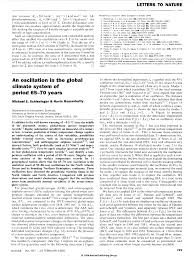 how to write a peer review paper notable papers on sea level and science schlesinger m ramankutty n 1994 an oscillation in the global climate system of period 65 70 years nature vol 367 pp 723 726 24 february 1994